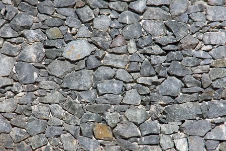 Grey natural stone wall