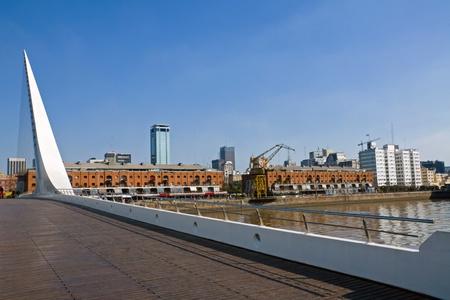 mujer: Puente de la Mujer and Puerto Madero