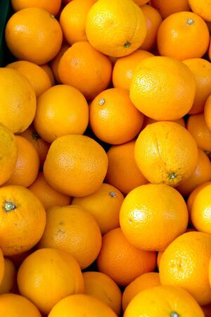 Fresh clementines on a market Stock Photo - 12235500