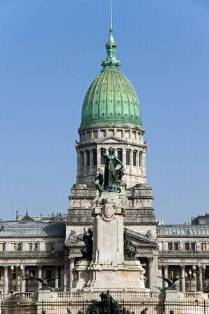 Palacio del Congreso in Buenos Aires, Argentina