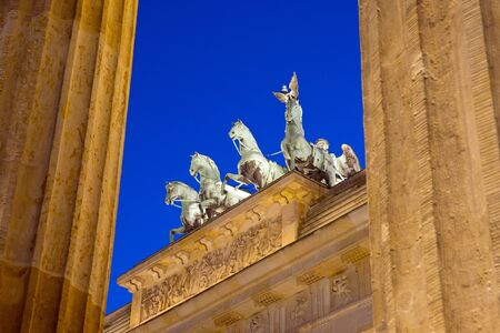 Different view of Berlins Brandenburger Tor Stock Photo - 12871012
