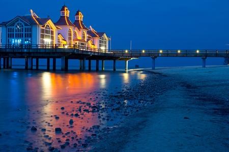 reprimanding: The pier of Sellin