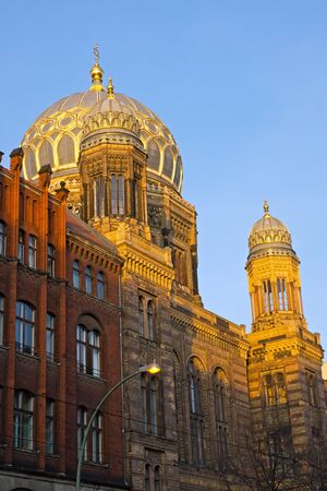 synagoge: The beautiful New Synagogue in Berlin