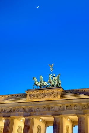 The Brandenburger Tor at dawn photo