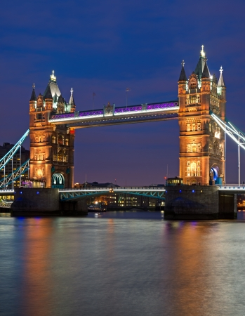 The Tower Bridge in London Stock Photo - 13909043