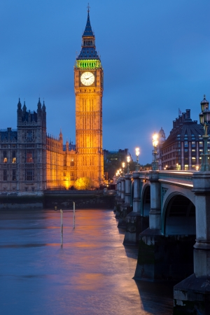 Clocktower of the Houses of Parliament in London