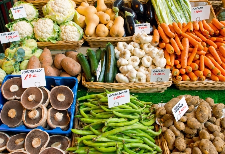 Variety of vegetables for sale Stock Photo - 14028848