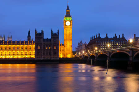 Londons Houses of Parliament photo