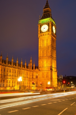 Clocktower Big Ben in London photo