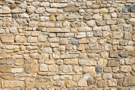 stone work: Antique natural stonewall