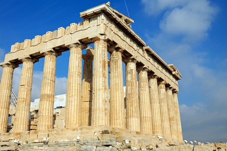 The Parthenon in Athens photo