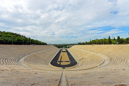 The old Panathenaic stadium in Athens