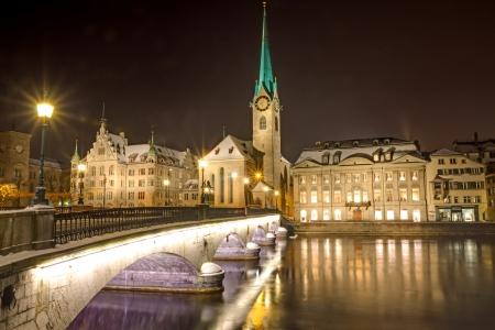 nightscene: Nightscene in Zurich