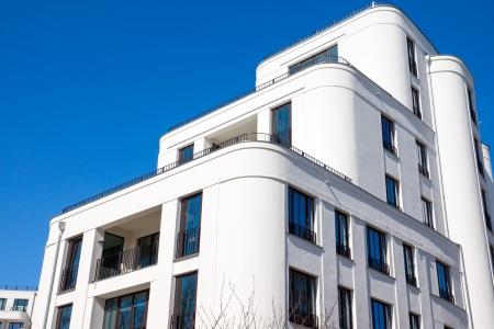 property berlin: Modern townhouse in Berlin  Stock Photo