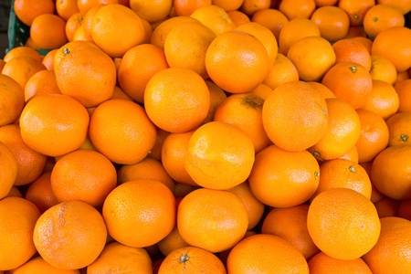 A pile of clementines Stock Photo - 19829234
