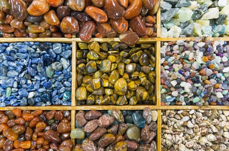 semiprecious: A variety of some beautiful semiprecious stones
