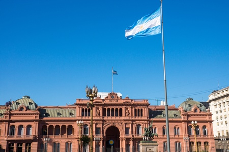 peron: The famous Casa Rosada in Buenos Aires, Argentina