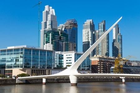 Skyline of Puerto Madero