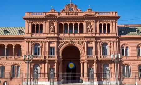 evita: The Casa Rosada in Buenos Aires, Argentina