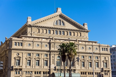 The Teatro Colon in Buenos Aires Editorial