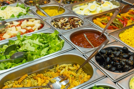 Colourful buffet photo