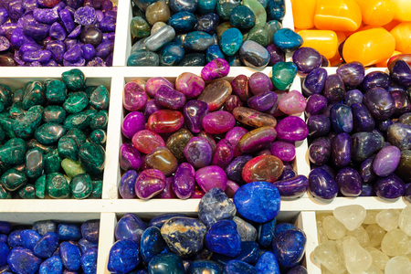 semiprecious: Selection of semiprecious stones
