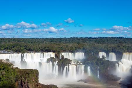 southamerica: Iguazu falls in Argentina Stock Photo