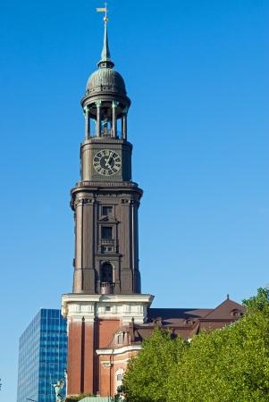 Church St  Michael in Hamburg Imagens
