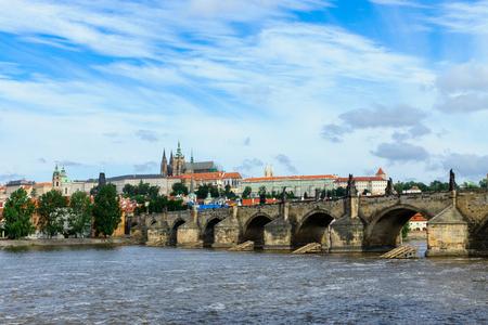 The Charles bridge in Prague photo