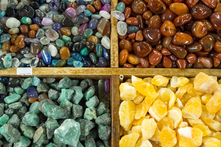 semiprecious: Background from semi-precious stones