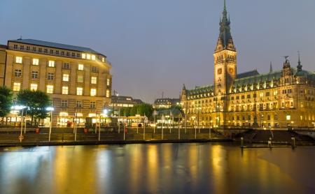 Hamburgs beautiful townhall Imagens - 23845141