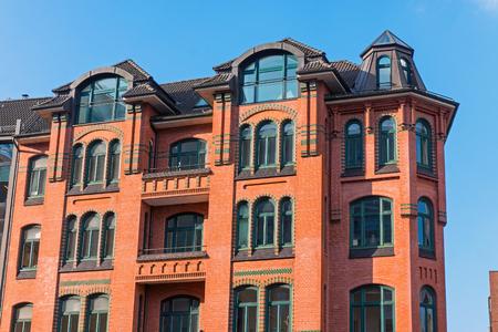characteristic: Characteristic building in Hamburg