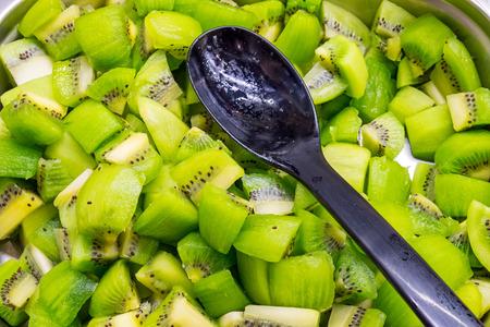 kiwi fruta: Ensalada de kiwi