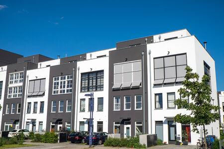 property berlin: New terraced housing seen in Berlin Editorial