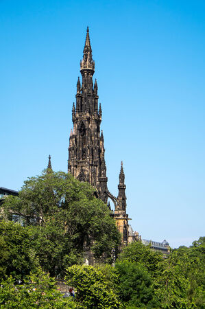 scott: Scott Monument in Edinburgh