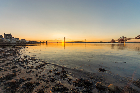 South Queensferry and the bridges photo
