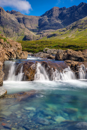 Beautiful Fairy Pools, Isle of Skye Imagens - 31903580