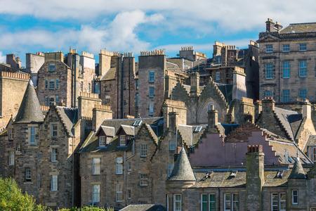 house gables: Buildings in Edinburgh