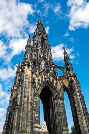 scott monument: The Scott Monument in Edinburgh