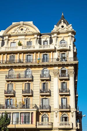 gotico: Un viejo edificio hist�rico visto en el coraz�n de Barcelona, ???? Espa�a Editorial