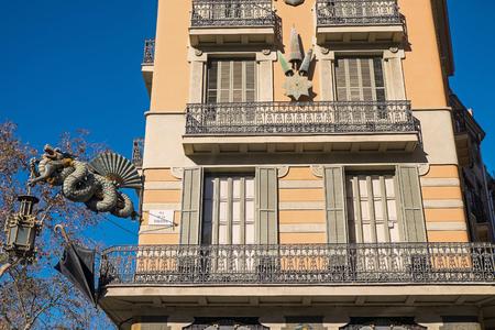 gotico: Construir junto a la Rambla de Barcelona Editorial