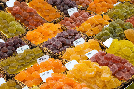 sugarcoat: Sour sweets at the Boqueria market in Barcelona
