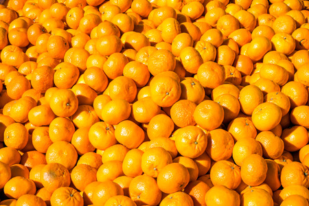 reticulata: Clementines for sale at a market