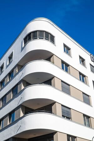 New apartment building in Berlin Stock Photo