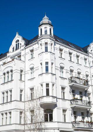 property berlin: Old residential building in Berlin Stock Photo