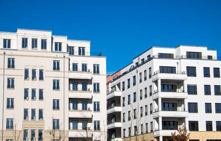 block of flats: Modern block of flats seen in Berlin