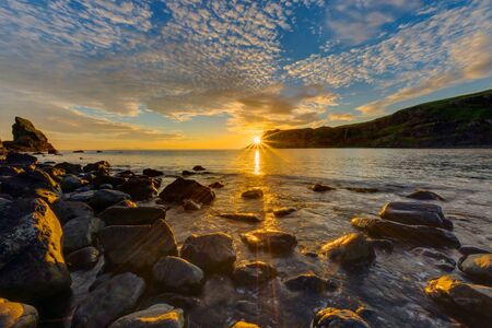skye: Amazing sunset on the Isle of Skye in Scotland