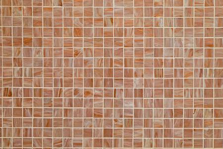 tiled: Brown square tiled background