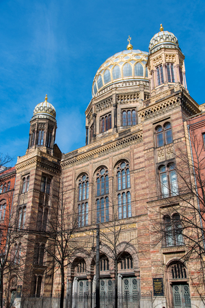 jewish houses: The beautiful New Synagogue in Berlin, Germany