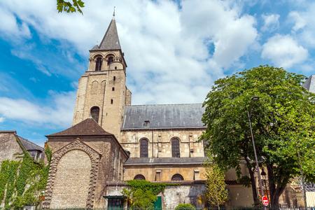 pres: The Abbey of Saint-Germain-des-Pres in Paris, France